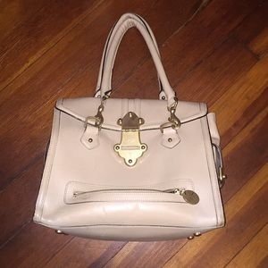 Tracy Reese cream leather purse